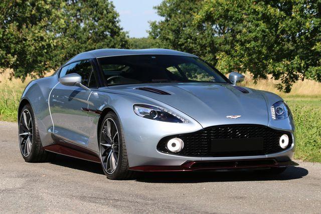 2018 Aston Martin V12 Vanquish Zagato Coupe